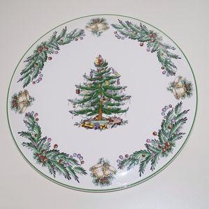 Spode Christmas Tree Garland Cake Cheese Plate